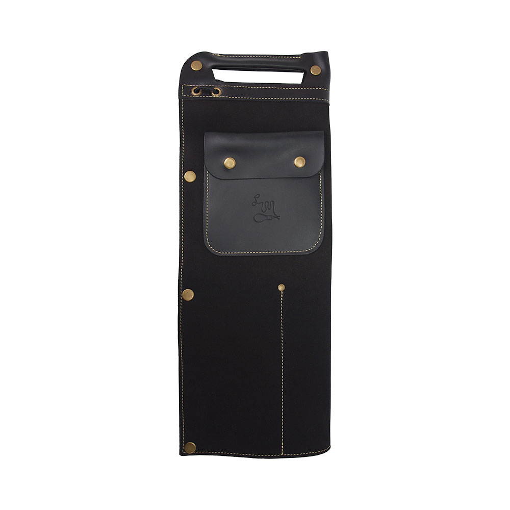 LM Products STB-1 Black Full Leather Drumstick Bag スティックバッグ