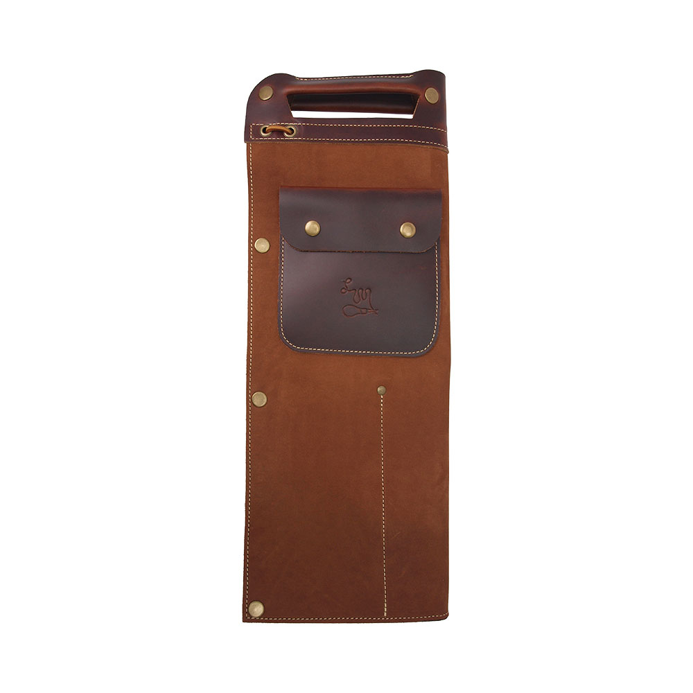 LM Products STB-1 Brown Full Leather Drumstick Bag スティックバッグ
