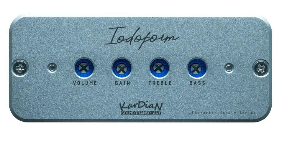 KARDIAN/カージアン Iodoform / ヨードホルムオンボードプリアンプとは違う、キャラクターモジュール シルバー