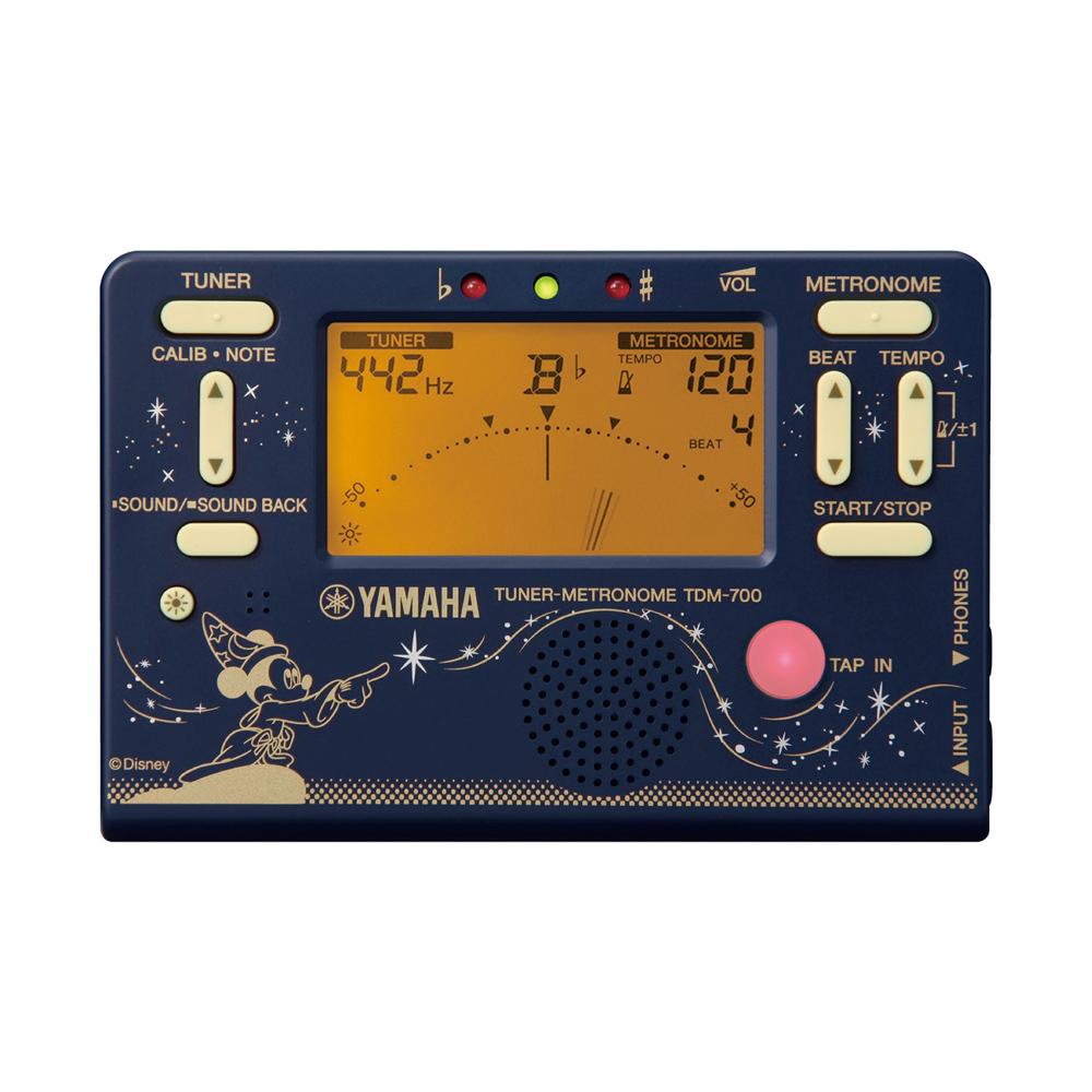 YAMAHA TDM-700DF2 ディズニー ファンタジア ミッキー チューナー メトロノーム 正面画像