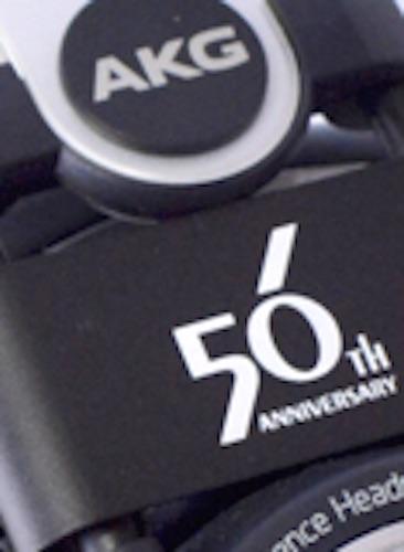 akgヘッドホン K702 ヒビノ創立50周年記念モデルのロゴ画像