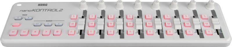 KORG nanoKONTROL2-WH USB-MIDIコントローラー