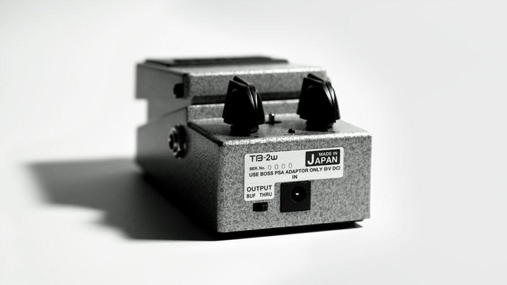 BOSS トーンベンダー TB-2W 背面の画像
