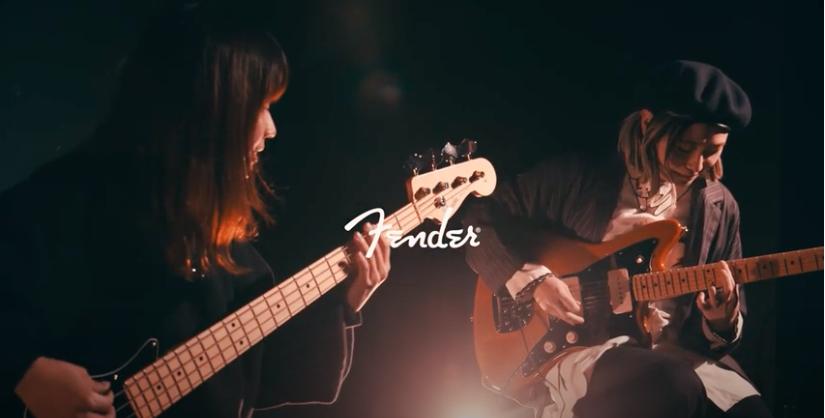 フェンダーの新しい日本製シリーズ「Fender Made in Japan Hybrid II 」の魅力をtricotが語る