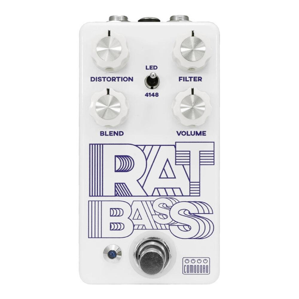 Comodoro RAT BASS ディストーション ベースエフェクター