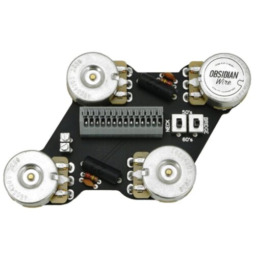 ObsidianWireから50s配線と60s配線を選択可能な配線済みアッセンブリVintage MKII for Les Paulが発売開始