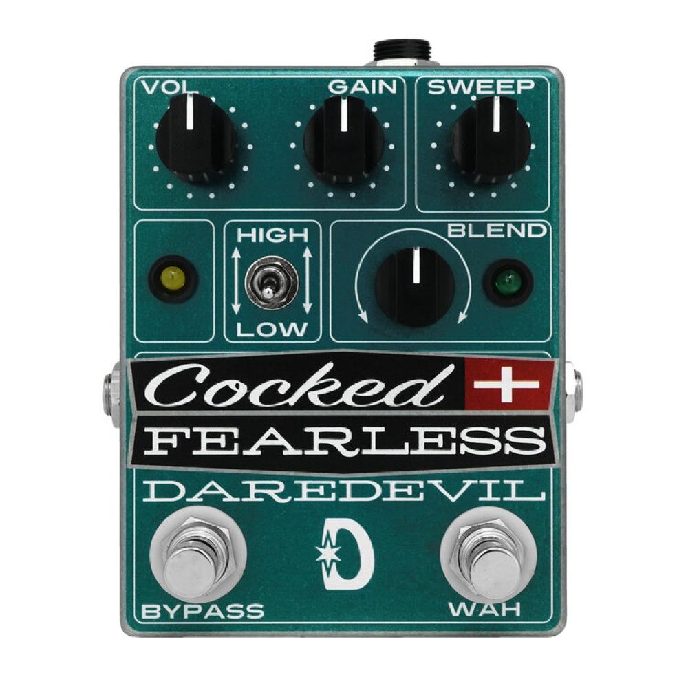様々なワウ半止めサウンドを表現可能なフィルターディストーション「Cocked and Fearless」発売開始