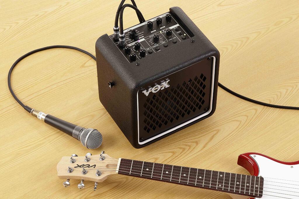 MINI GO シリーズギターアンプ画像 マイク接続も可能