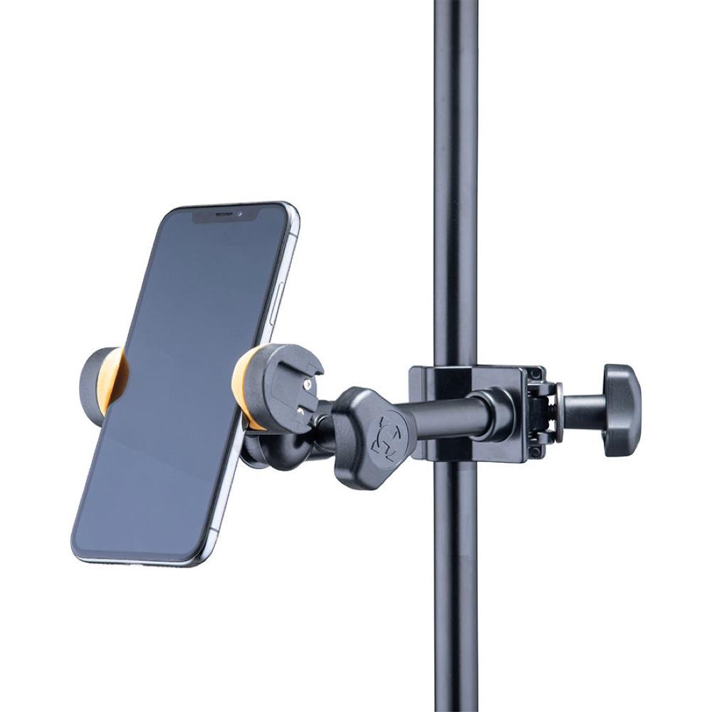 HERCULES DG207B Smartphone Holder スマートフォンホルダー スマートフォン設置例