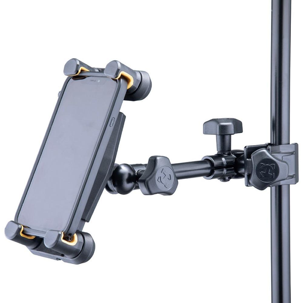 HERCULES DG307B Tablet & Smartphone Holder タブレット・スマートフォンホルダー スマートフォン設置例
