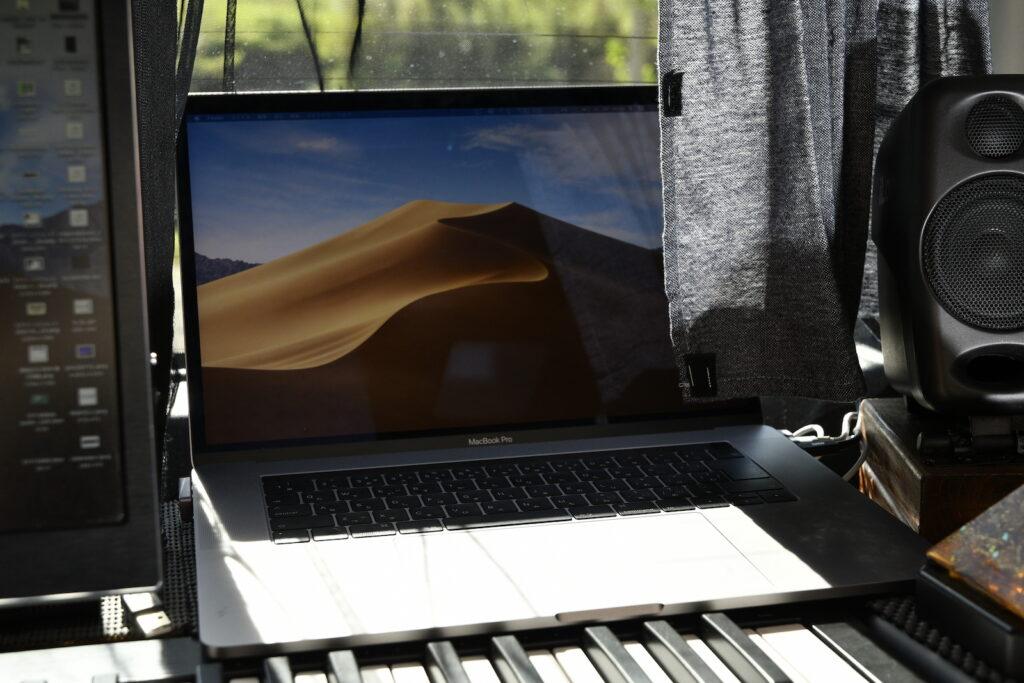 実際に音楽制作に使用しているAppleのMacBook Pro(15インチ 2019)