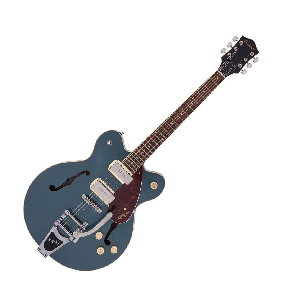 GRETSCH G2622T-P90 Streamliner Center Block Double-Cut P90 with Bigsby Gunmetal エレキギター