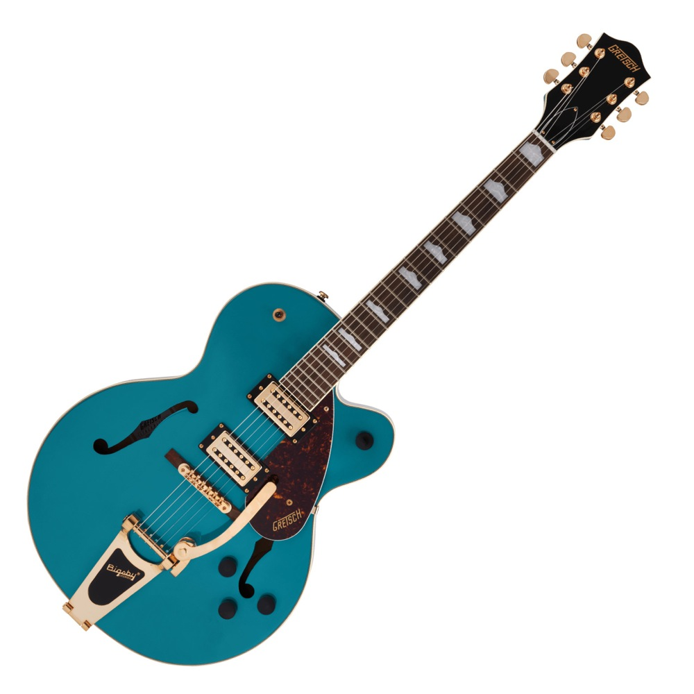 GRETSCH G2410TG Streamliner Hollow Body SingleCut with Bigsby and Gold Hardware OCN TURQ エレキギター