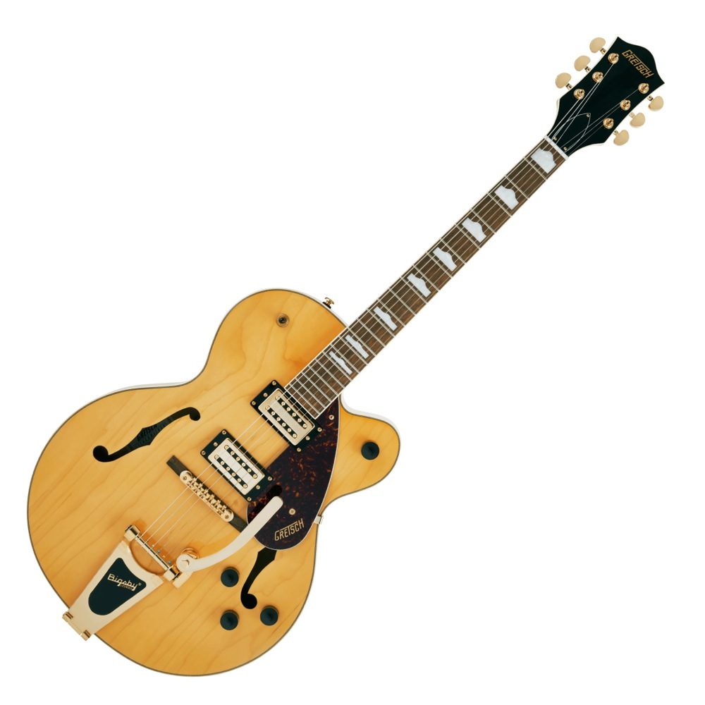 GRETSCH G2410TG Streamliner Hollow Body Single-Cut with Bigsby and Gold Hardware VLAMB エレキギター