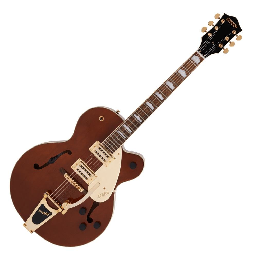 GRETSCH G2410TG Streamliner Hollow Body Single-Cut with Bigsby and Gold Hardware SNGBRL エレキギター