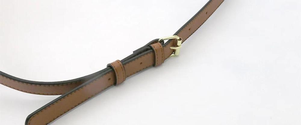 Legato Largo x Pearl Flute フルートケースカバー キャメル 長さ調節可能なストラップ