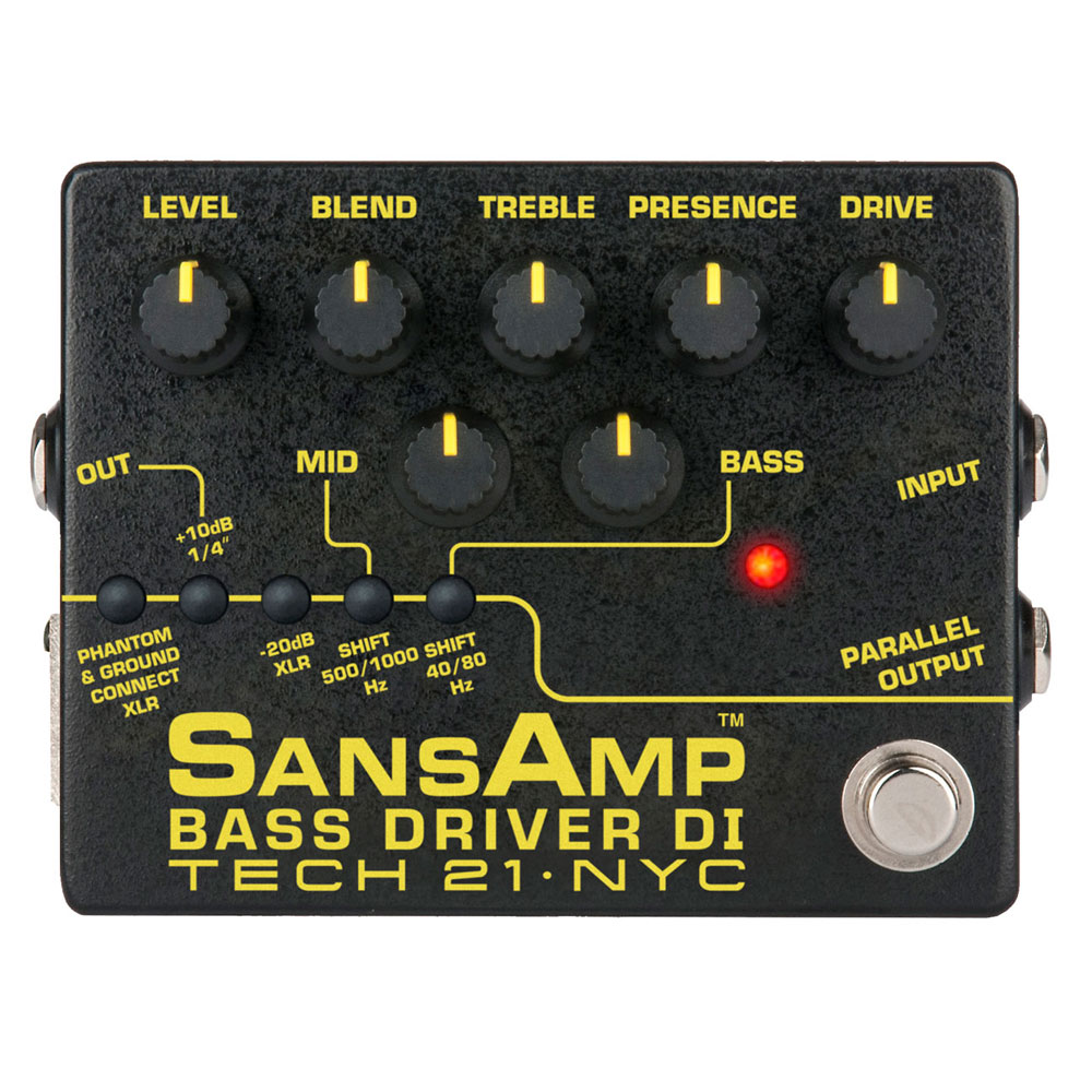 TECH21 SansAmp BASS DRIVER DI V2