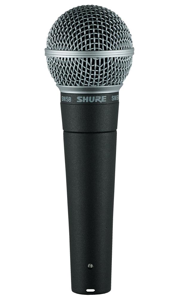 SHURE マイクロフォン SM58-LCEの画像