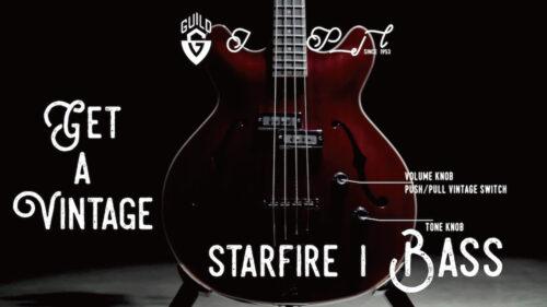 Guildのセミホロウベース、STARFIRE I 登場!