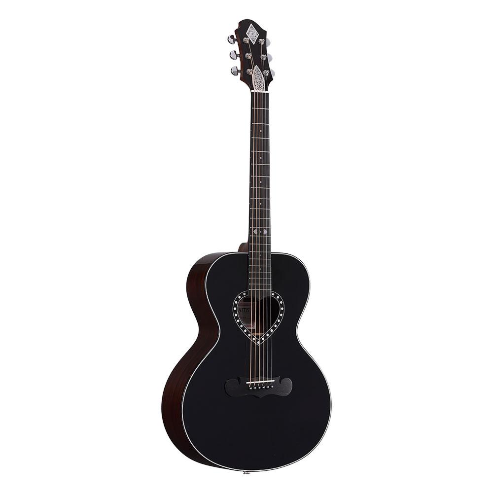 ZEMAITIS AAS-1500HPD-E BK ミニサイズ エレクトリックアコースティックギター