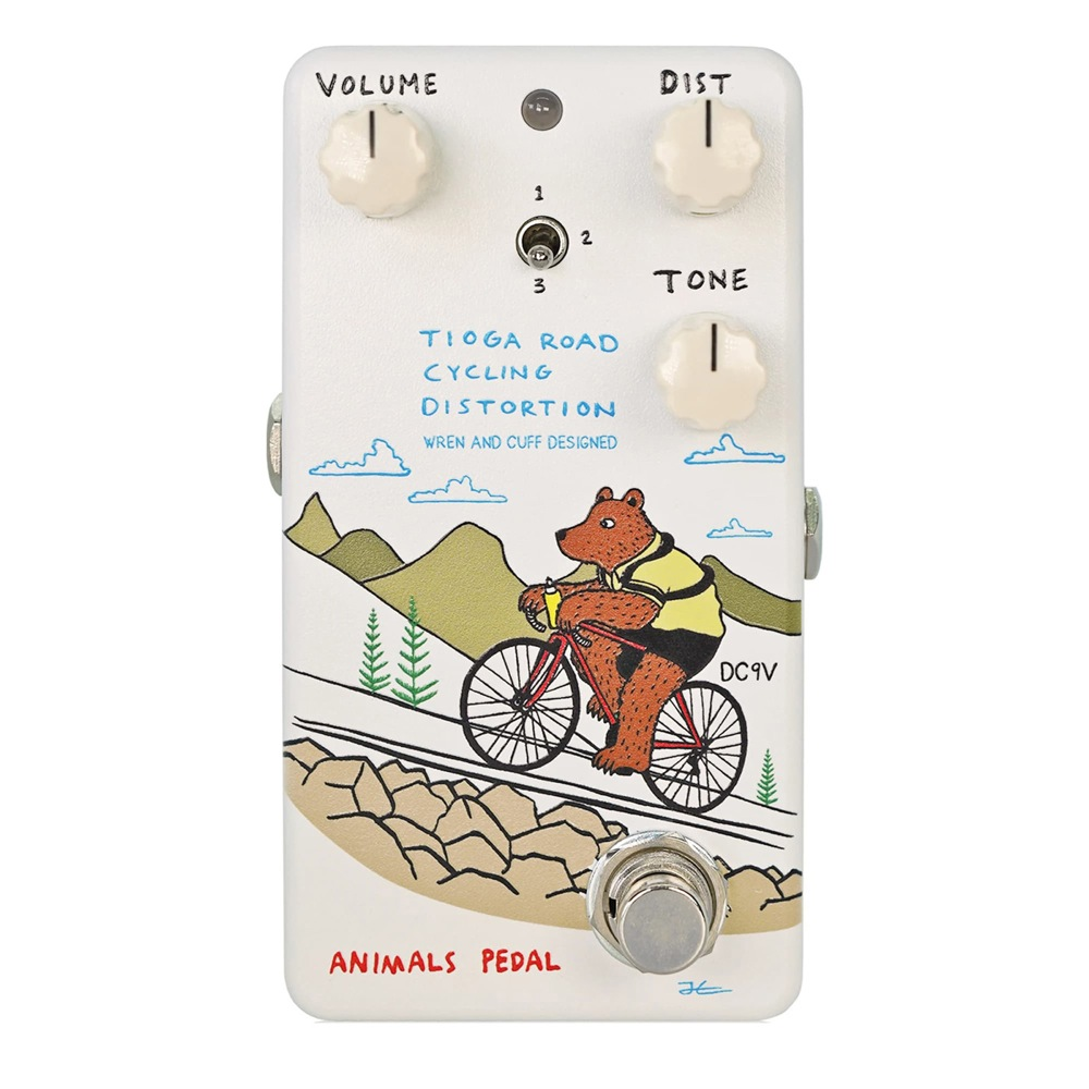 Animals Pedal Tioga Road Cycling Distortion ディストーション ギターエフェクター