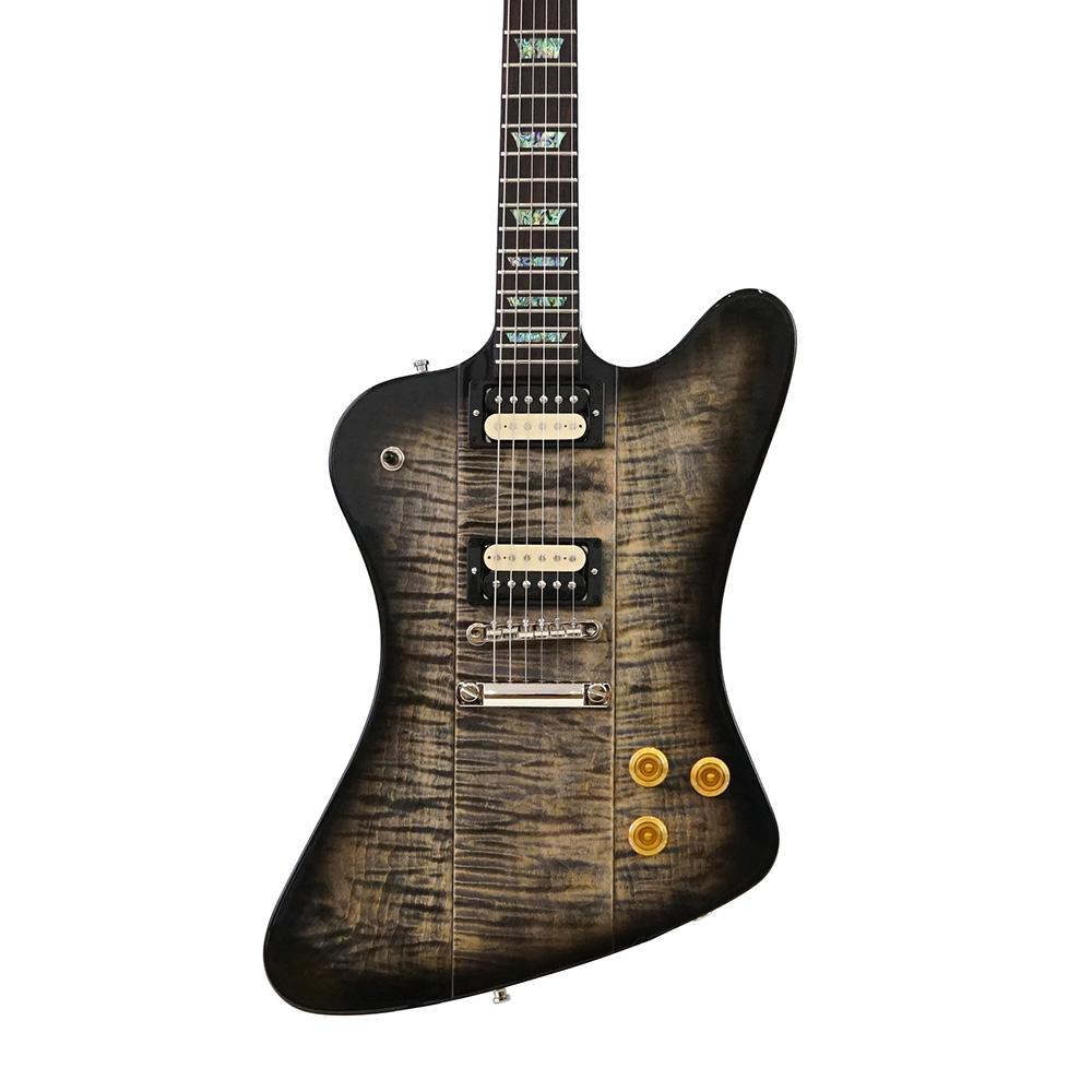 Gibson Custom Shop TAK MATSUMOTO FIREBIRD TRANS BLACK BURST ボディトップ