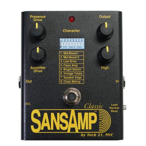 あの SansAmp CLASSIC が帰ってきた!おかえり!サンズアンプ クラシック!