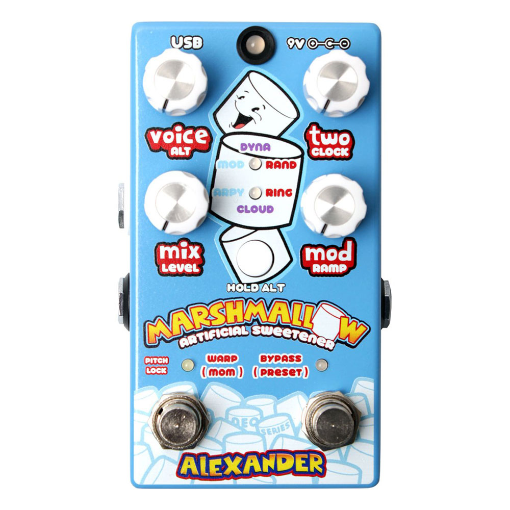 Alexander Pedals Marshmallow ピッチシフター ギターエフェクター