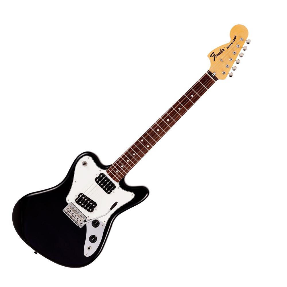 Fender Made in Japan Limited Super-Sonic BLK