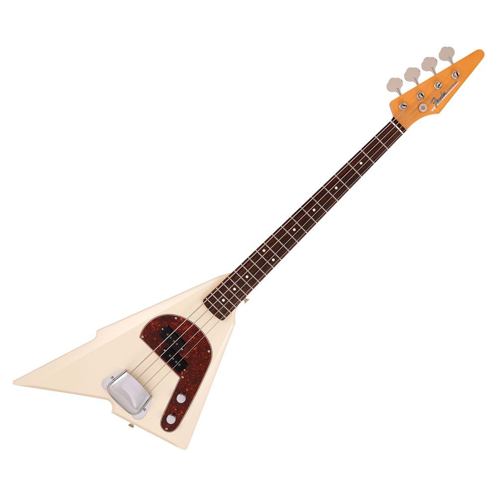 Fender Hama Okamoto Katana Bass Olympic White エレキベース