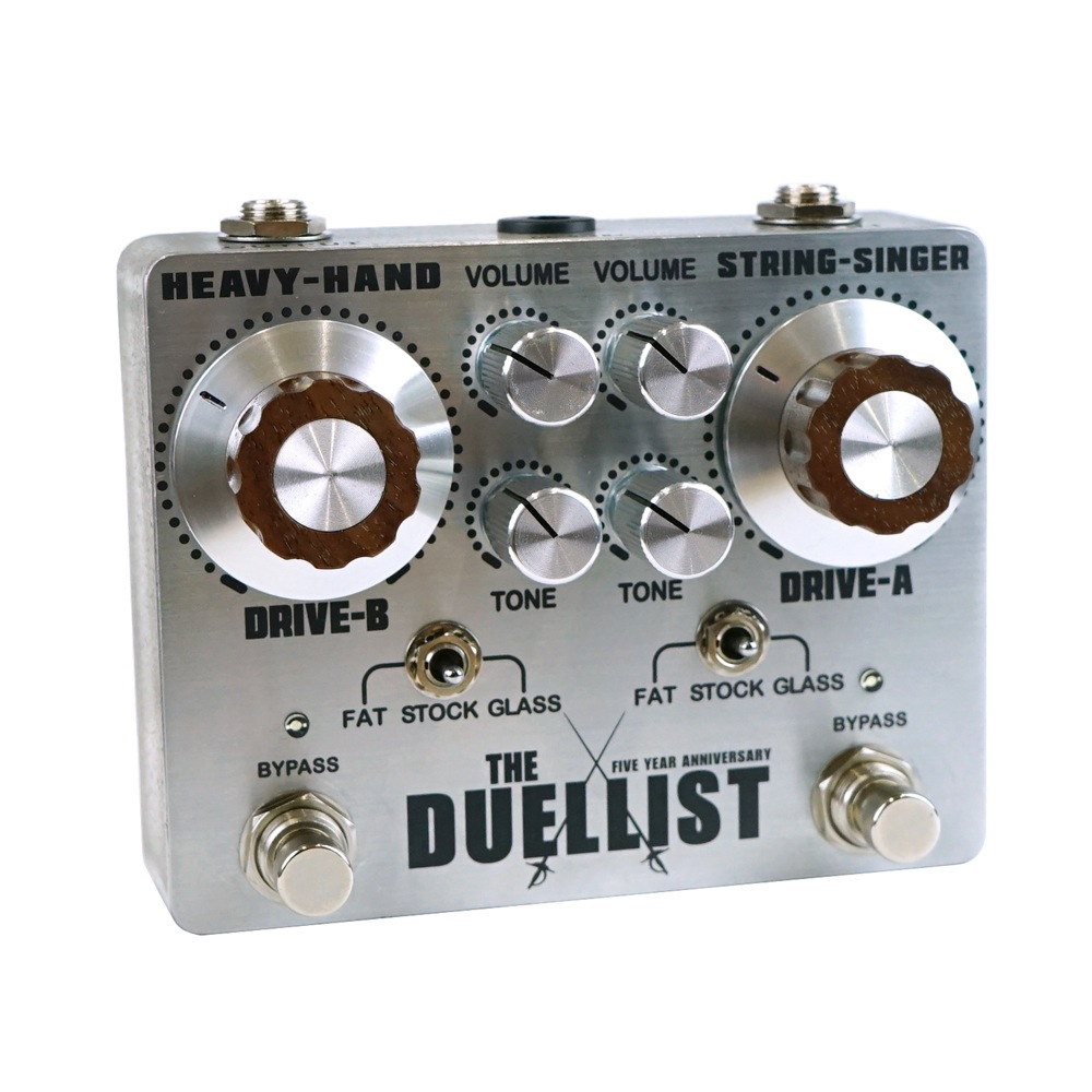 KING TONE GUITAR THE DUELLIST SILVER