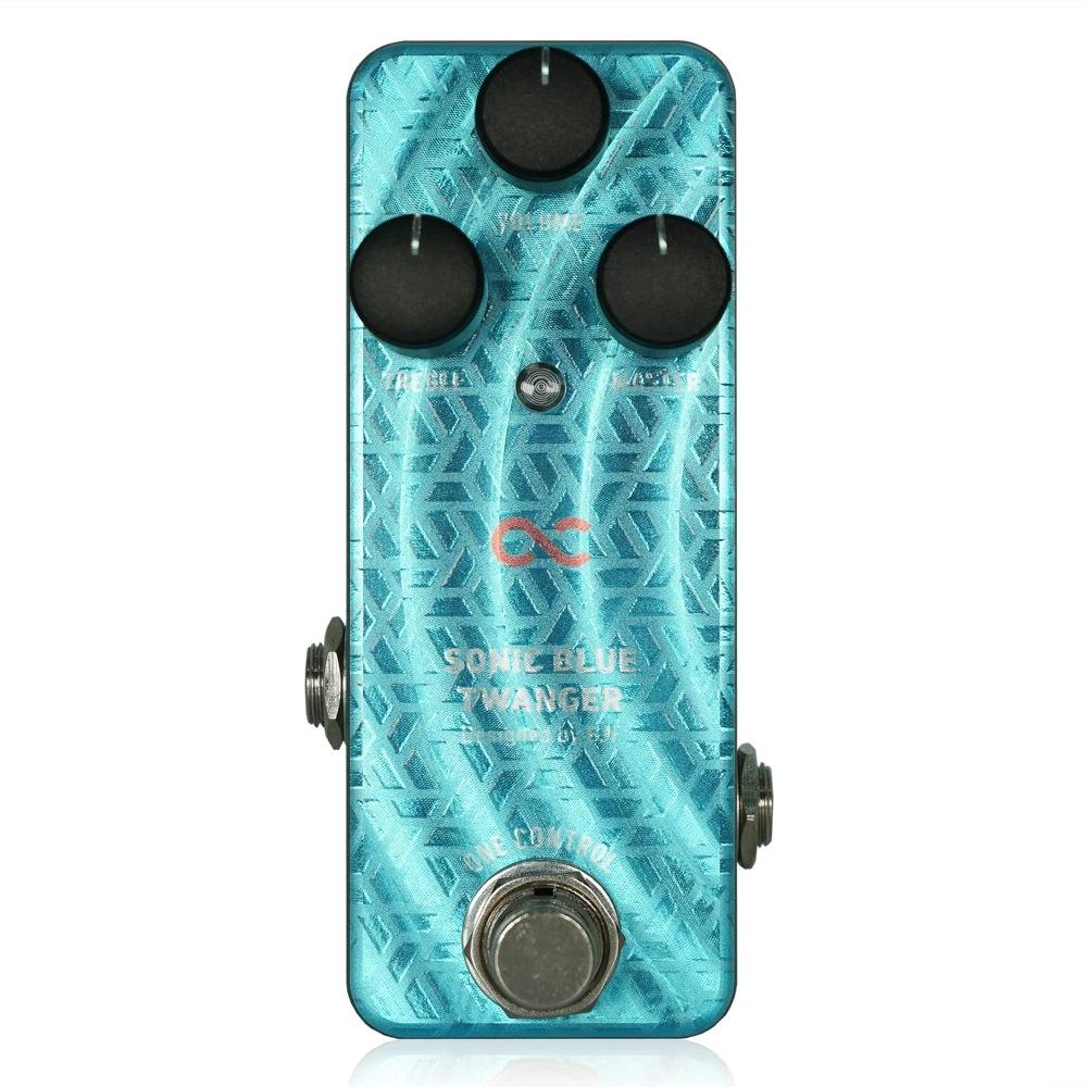 One Control SONIC BLUE TWANGER ブースター ギターエフェクター