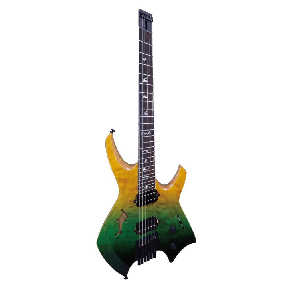 Ormsby Guitars GOLIATH QMBL SHARK LTD SWD 6弦