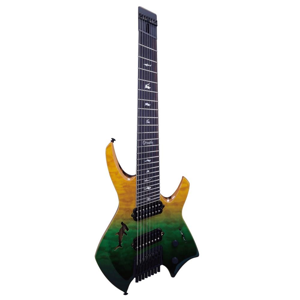 Ormsby Guitars GOLIATH QMBL SHARK LTD SWD 8弦