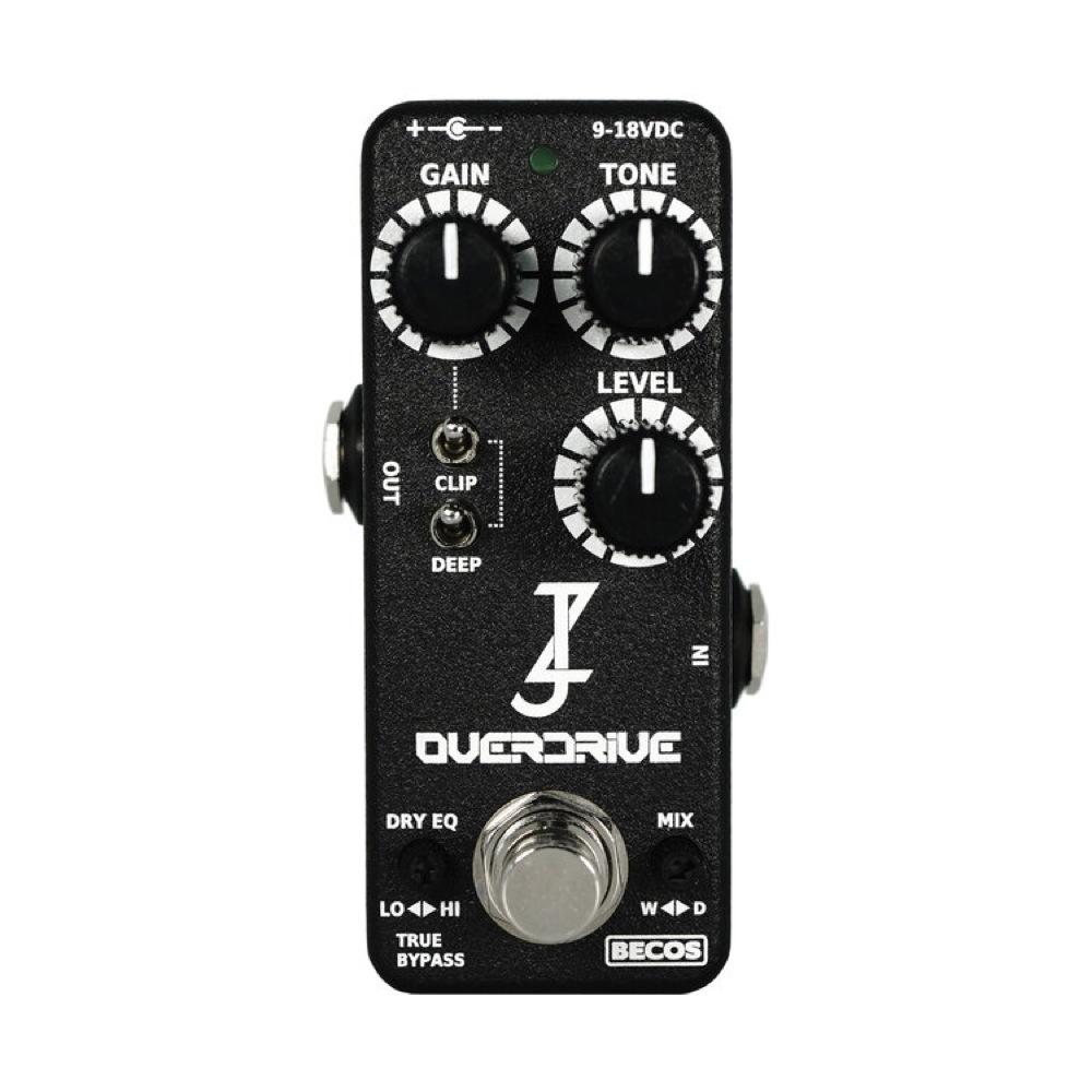 BECOS Ziffer Overdrive オーバードライブ ギターエフェクター
