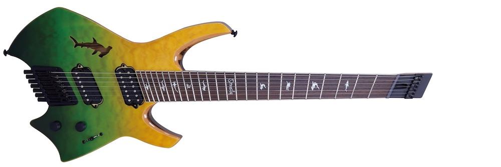 Ormsby Guitars GOLIATH QMBL SHARK LTD SWD 7弦