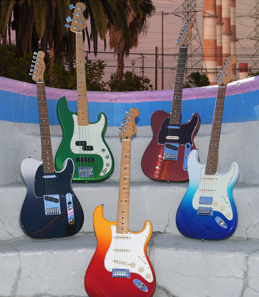 一歩上を目指す方へ!Fender Player Plus シリーズが発売されました