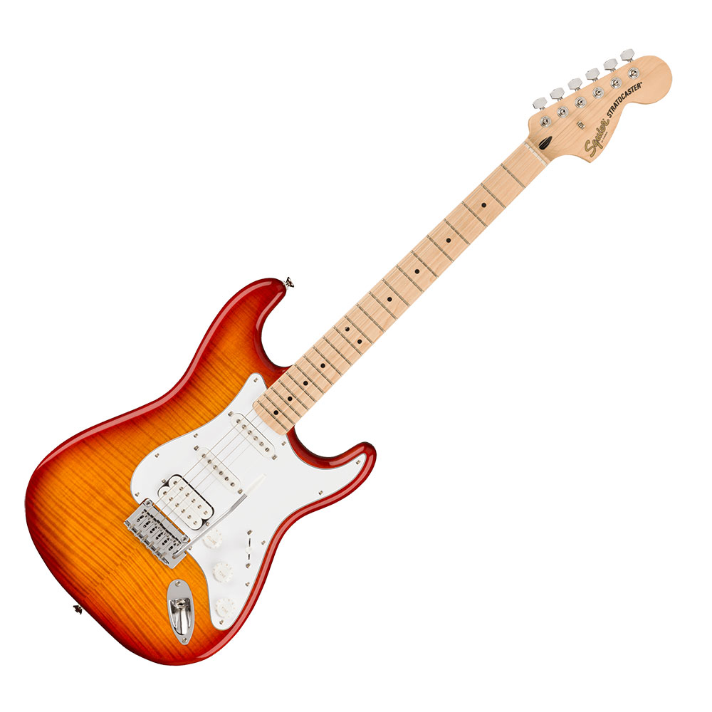 Squier Affinity Series Stratocaster FMT HSS SSB エレキギター