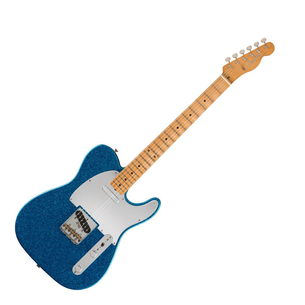 Fender J Mascis Telecaster Bottle Rocket Blue Flake エレキギター