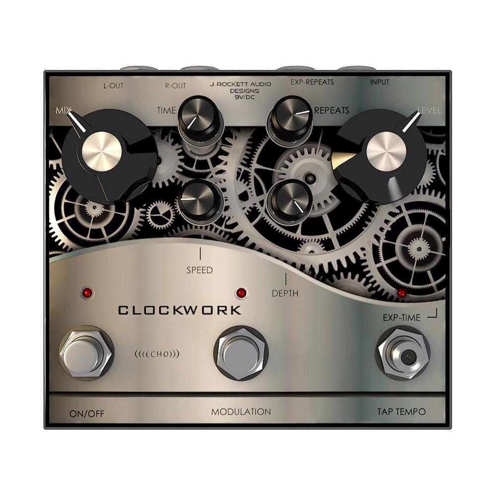 J Rockett Audio Designs (JRAD) Clockwork Echo アナログディレイ ギターエフェクター