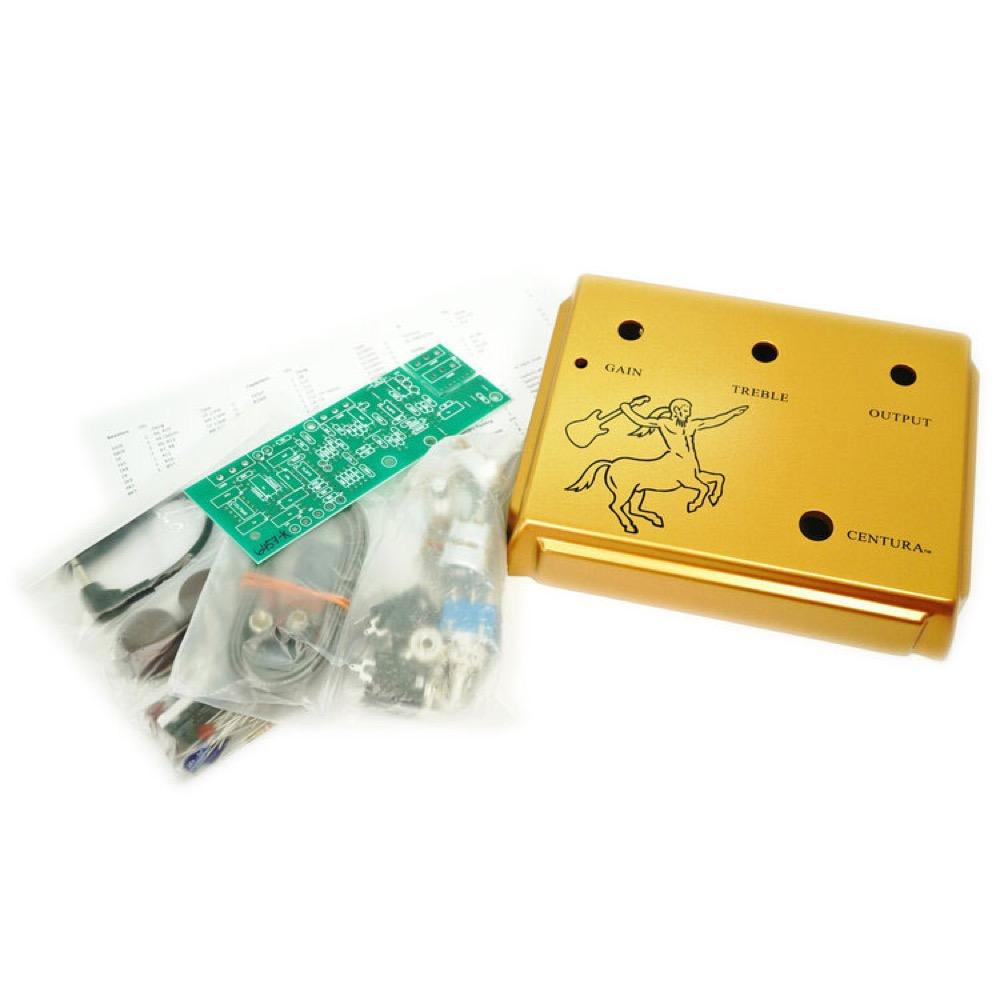 Ceriatone Centura Kit Matte Gold オーバードライブ ギターエフェクター 自作キット 絵付き