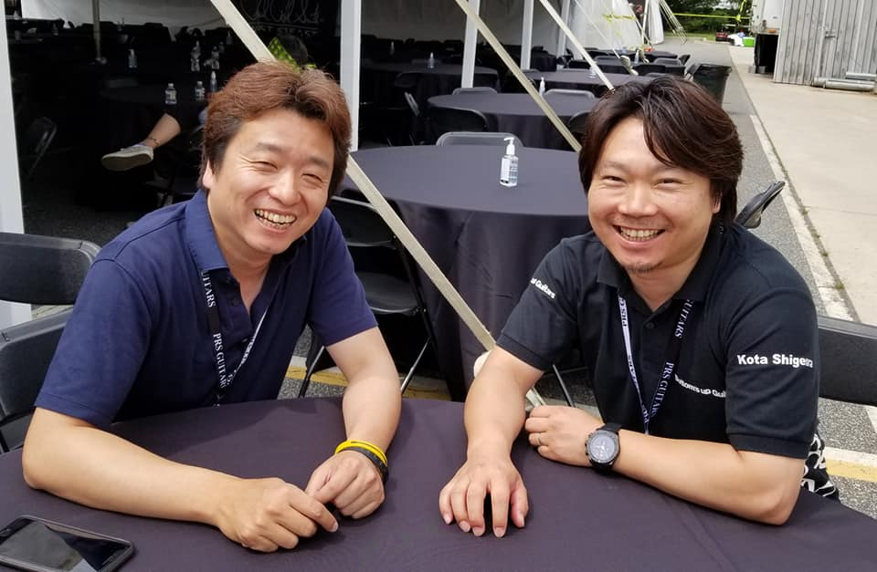 重浦宏太氏と中原