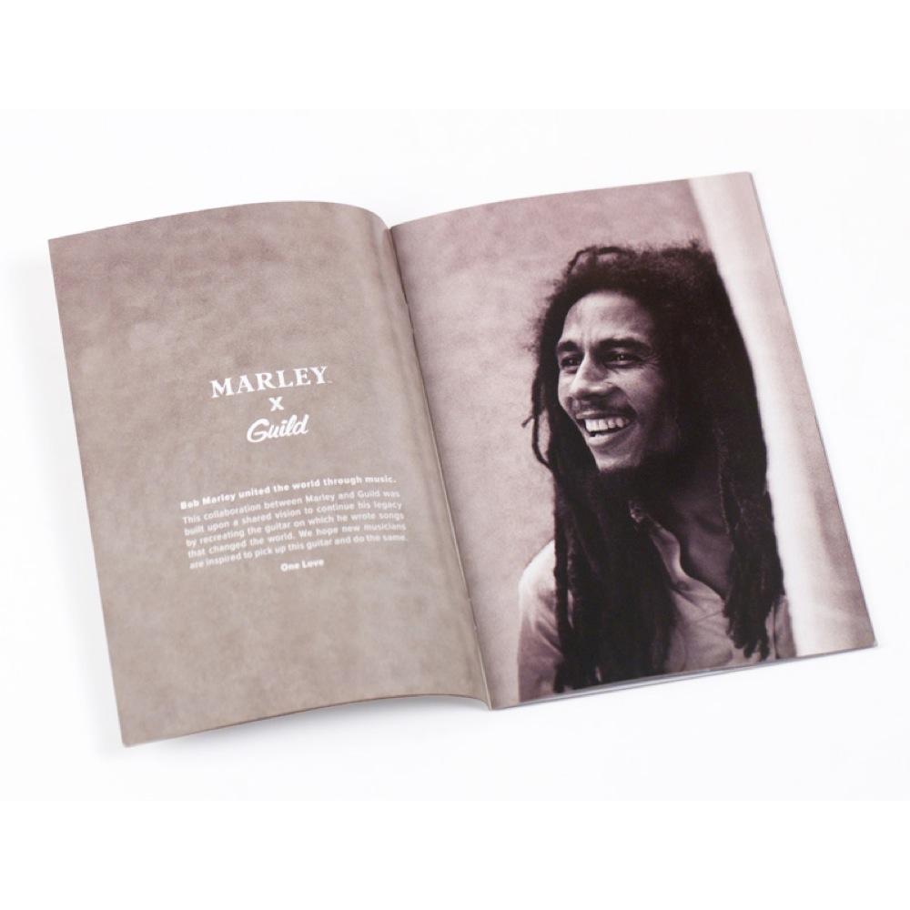 GUILD A-20 Bob Marley 付属ブックレット