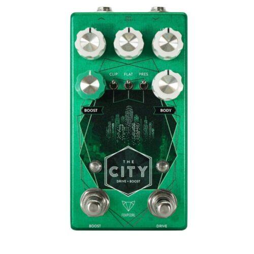 Foxpedalから今使えるクラシカルなオーバードライブ「The City V2」が発売開始