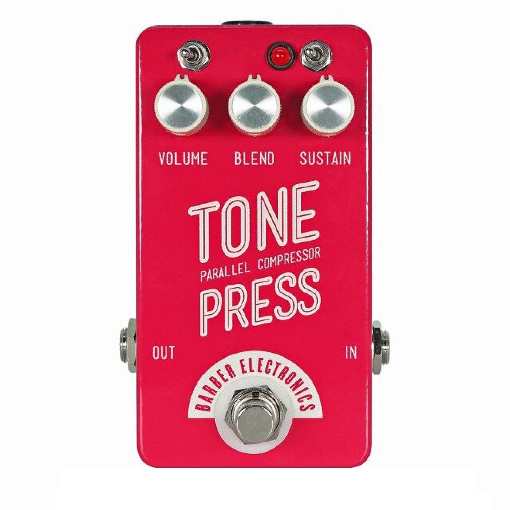 Barber Electronicsからシンプルなコンプ「Tone Press V2 Red」発売開始